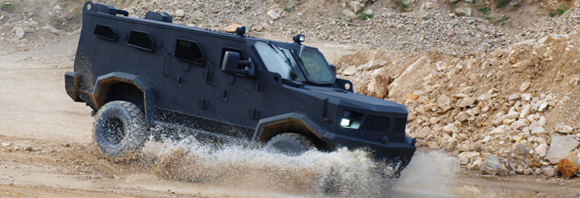 armor hunter tactical vehicle